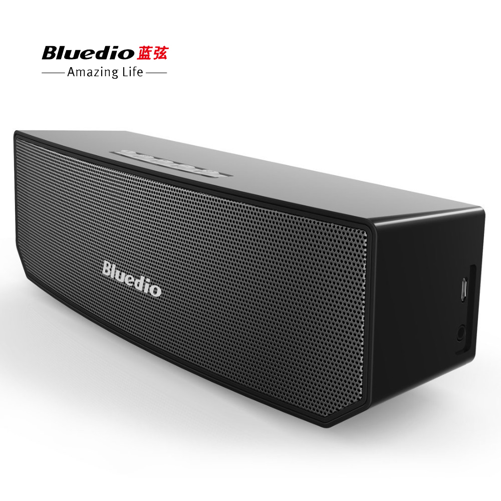 Original Bluedio BS-3 enceinte Bluetooth Speaker 3D Surround Stereo Music Support Smartphone MP3 TV Set For Home Theater Party