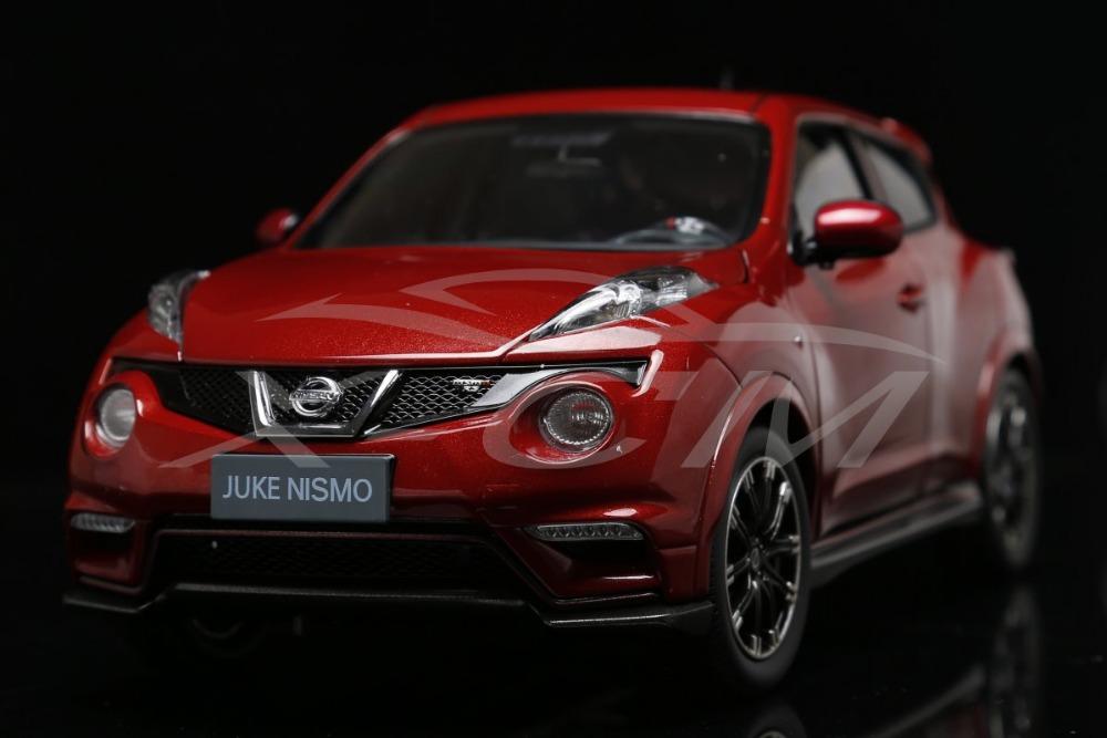 Diecast Car Model Nissan Juke Nismo 1:18 (Orange/Red) White Outside Box + SMALL GIFT!!!!(China (Mainland))