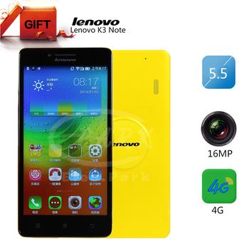 Lenovo K3 примечание лимон K50-T5 оригинальный телефон 5.5 дюймов андроид 5.0 смартфон MTK6752 Octa ядро 4 г LTE 2 ГБ оперативной памяти 16 г ROM 13MP камера