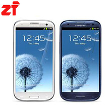 "Original unlocked Samsung Galaxy S3 i9300 Android mobile phone 3G GSM 4.8"" 8MP GPS WIFI i9300 smartphone dropping shipping(China (Mainland))"