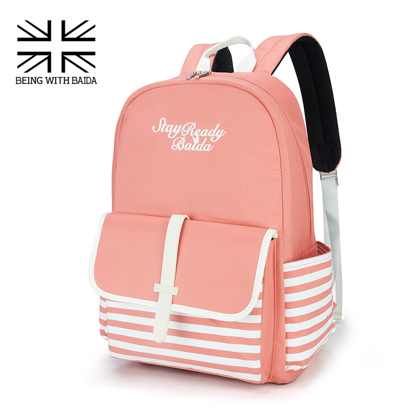 2016 fashion school japan and korean preppy style rucksack girls fresh style shoulders bag high Korean style fashion girl bag