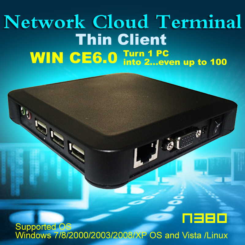 N380 ( TS660 ) MINI PC Wireless ARM11 Win CE 6.0 OS Network Cloud Terminal Thin Client Net Computer Computer Sharing(China (Mainland))