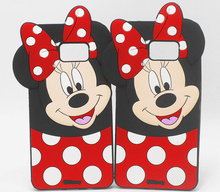 Buy 3D Cute Cartoon Smile Minnie Silicon Case Cover Samsung Galaxy 2017 A3/A320 A5/A520 A7/A720 2016 J2 J5 J7 prime on5 on7 for $3.08 in AliExpress store