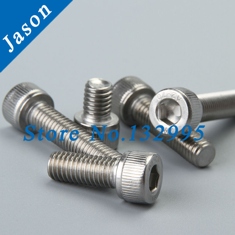 8#-32*1-1/8  Stainless Steel A2 Hex Socket Head Cap Screw 8#*L SUS 304<br><br>Aliexpress