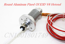 3D Printer Accessories Hot end Round Fixed Aluminum plate Sandblasting Oxidation Reprap Kossel E3D J-head V6