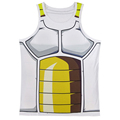 Men Dragon Ball Z 3D Tank Top Vegeta Goku Vest Summer