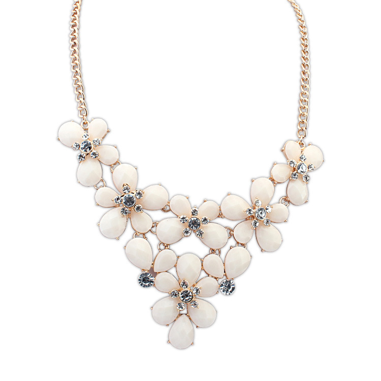 Collares Maxi Necklace Jewelry Seconds Kill Collar Necklace Women New Bohemian Butterfly Flower Welcome Global Buyers To Join(China (Mainland))