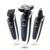 Новый Мужчины Моющийся 3in1 Аккумуляторная Электробритва 4D плавающей с волос в носу триммер Бритва Профессиональный бритвы для бритья для мужчин