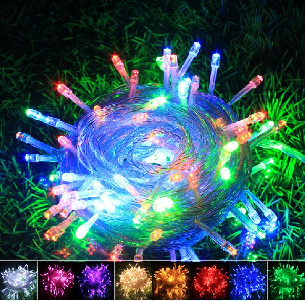 50M 400 LED String Lighting 110V / 220V Wedding Fairy Christmas Lights Outdoor Twinkle Decoration EU US plug - ShenZhen Oh-Box Information Technology Co., Ltd. store