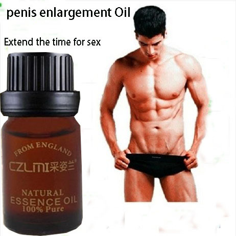 2 bottles genuine men penis enlargement oil growth delay topical aphrodisiac medicine pumps&enlargers free shipping(China (Mainland))