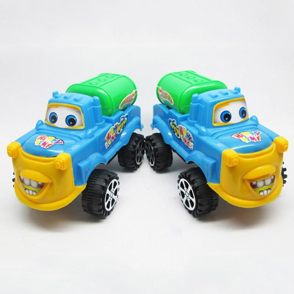 5Pcs/lot New Pull Back Movable Construction Vehicle Water Car Kids Truck Toy Birthday Gift <br><br>Aliexpress