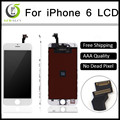 10pcs Quality AAA No Dead Pixel for IPhone 6 LCD Display Touch Screen 4 7