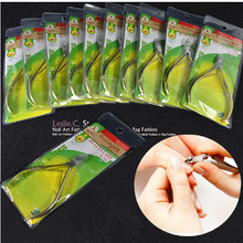 10pcs New 2014 Professional Gold Stainless Steel Nail Nippers Tools Cuticle Cutter Nipper Nail Art Clipper Tools #NA129X10(China (Mainland))