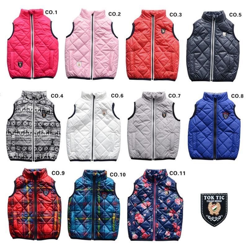 Гаджет  TOK TIK kids spring/autumn unisex warm vest boys vests zipper coat children kids waistcoat winter girl vests 3-12 years 11colors None Детские товары