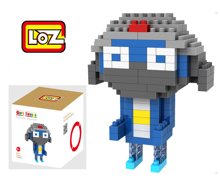Keroro Figure LOZ Educational Block Diamond Building Blocks ABS plastic Bricks Toy With Box(China (Mainland))