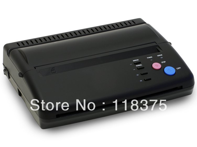 Free shipping 1 Pro Tattoo Stencil Transfer Machine Thermal Copier Maker For Transfer Papers WS-D200<br><br>Aliexpress