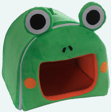 New frog shape pet dog cat house warm cozy dog kennel nest doggy beds tent