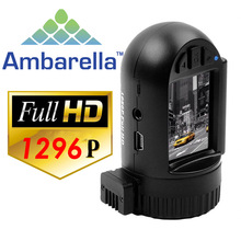 Mini 0805 Pro 1296P Super HD dashcam met GPS, WDR en Ambarella A7LA50D