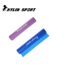 Set of 2 1.5m Strengthen muscles training resistance bands fitness power exercise for wholesale and free shipping kylin sport