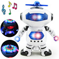 BOHS Space Dancing Humanoid Robot Toy With Light Children Pet Brinquedos Electronics Jouets Electronique for Boy