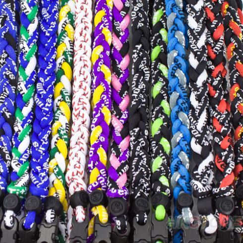 Titanium Ionic Sports Baseball Necklace 16/18/20/22 inch 3-rope Tornado Braid For Women Men Trendy Items Wholesale 0632(China (Mainland))
