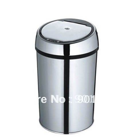 Hot sell Home bedroom bathroom 6L IR infrared touchless automatic sensor bin