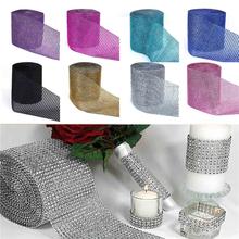 Buy Wholesale Hot 91.5cm 1PC Rhinestone Chain Diamond Mesh Trim Wedding Decor Bling Wrap Party Ribbon DIY Crafts Vase Supplies,W for $1.32 in AliExpress store