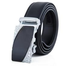 Brand designer mens belts luxury real leather belts for men metal buckle man Jeans pants genuine leather belt male strap