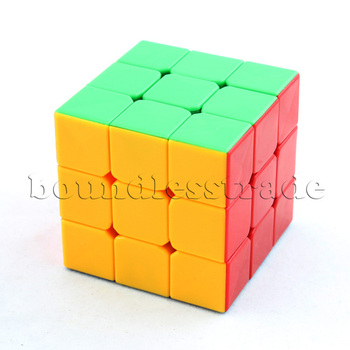 Free shipping NEW Dayan II GuHong 3x3x3 3D Puzzle Cube Spring Speed Magic Cube 6-Color Stickerless Toys _SP069