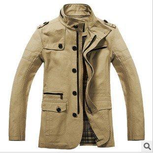 New spring 2014 coats men fashion design hot sale cotton male jackets for men XXL XXXL men's style outerwear & coats BJM009
