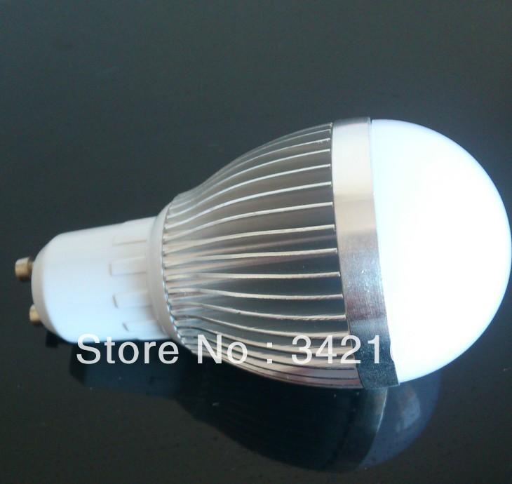 Cheap price (10pcs/lot)NO- Dimmable GU10 7W LED Globe Lamp Light Bulb Base Warm White/cool white(China (Mainland))
