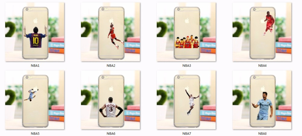Ultrathin Hard Cover For iPhone 6s NBA Koulan Photos Spot Wang Basketball Star Capa Transparent Cover For iPhone 6s Coque Fundas