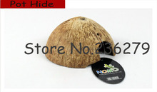 Reptile tortoise Snake Lizard hiding hole | Landscaping Reptile Cave | fake cave | turtle escape the cave |Shell of coco DB-008(China (Mainland))