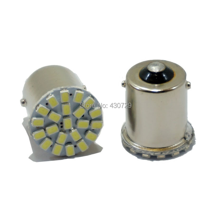 10pcs Car led lamp 1156 BA15S 22 LED 22 smd 22SMD Leds light 3020/1206 SMD turn signal reverse light(China (Mainland))