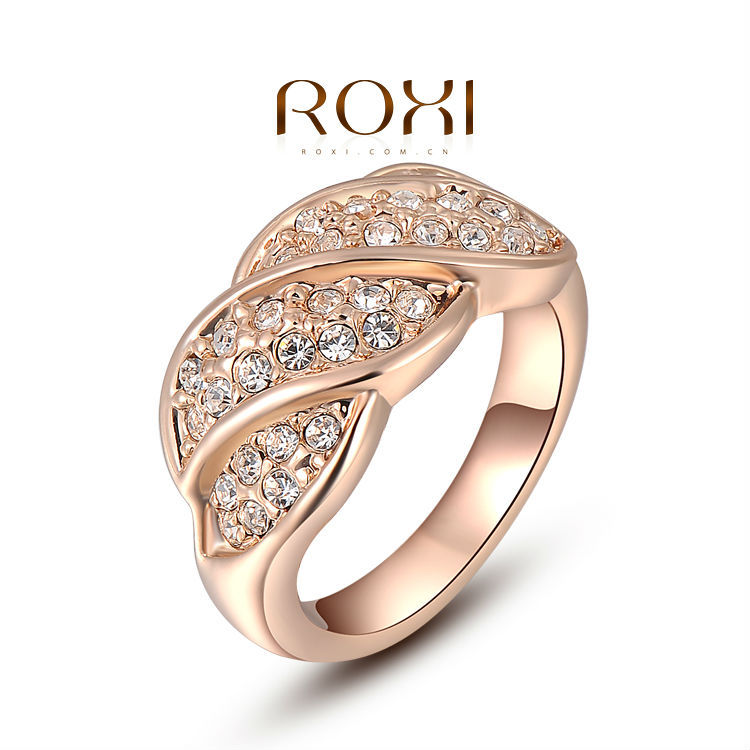 Caffany Brand 2015 Best Gift Leaves Ring Lovers Natural Stone Rings Super Jun