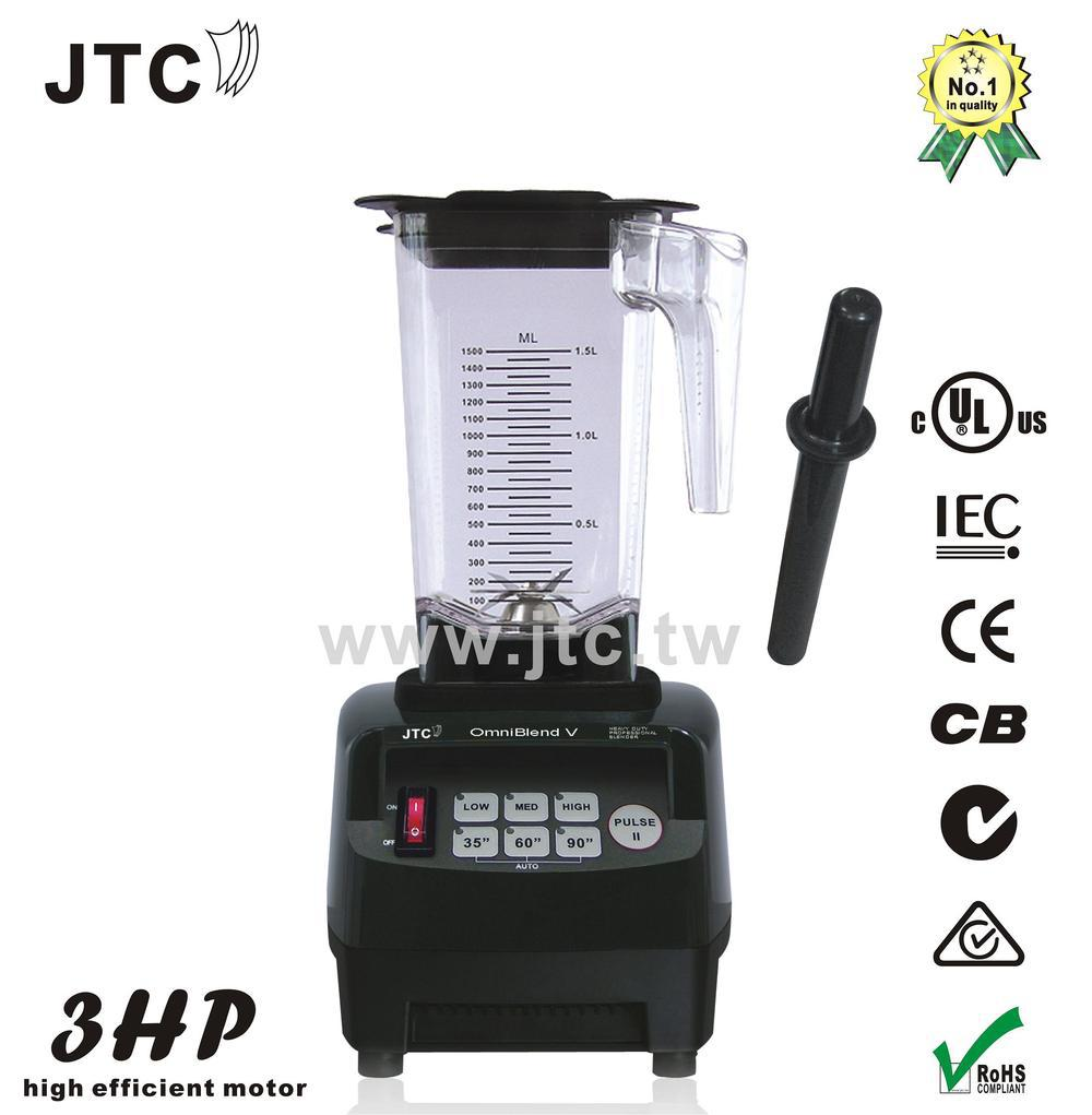 100% Original JTC Omniblend V TM-800A 3HP commercial bar blender mixer juicer food fruit processor ice green smothies heavy duty(China (Mainland))