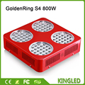GoldenRing S4 800W Double Chips Full Spectrum LED Grow Light 380 730nm Fast For vegetable and