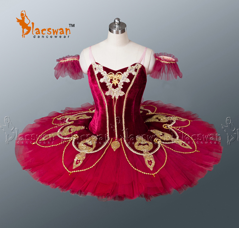 Nutcracker Professional Tutus BT674 Adult Classical Tutu White Girls Carmen Ballet Burgundy - Guangzhou Blacswan Dance & Activewear Co., Ltd. store