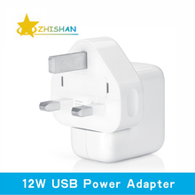2.4A Fast Charging 12W USB Power Adapter Travel Charger for iPhone 4s 5s 6 Plus iPad Mini Air Samsung Phone and Tablet for UK(China (Mainland))