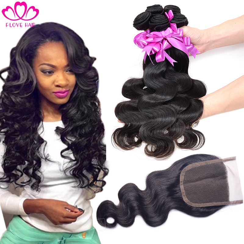 peruvian virgin hair with closure peruvian body wave with closure 4