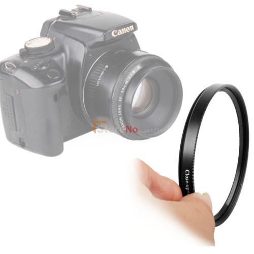 52 мм Макро фильтр + 4 Макро комплект Объектива Камеры Для NIK & N D3000 D3100 D5000 D5100 18-55 мм 55-200 мм 55-200 мм Объектив