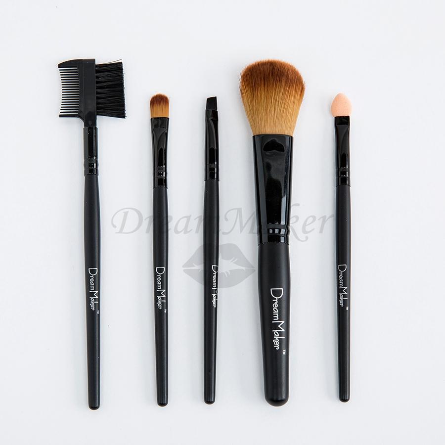 DreamMaker 5 pcs Makeup Brushes profissional Set pinceis maquiagem cosmetics makeup brushes kit & tools for beauty DM2001(China (Mainland))