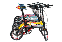 Lapalce 20inch Folding bike bicycle V Brake Alloy frame with 6 Color hot sale(China (Mainland))