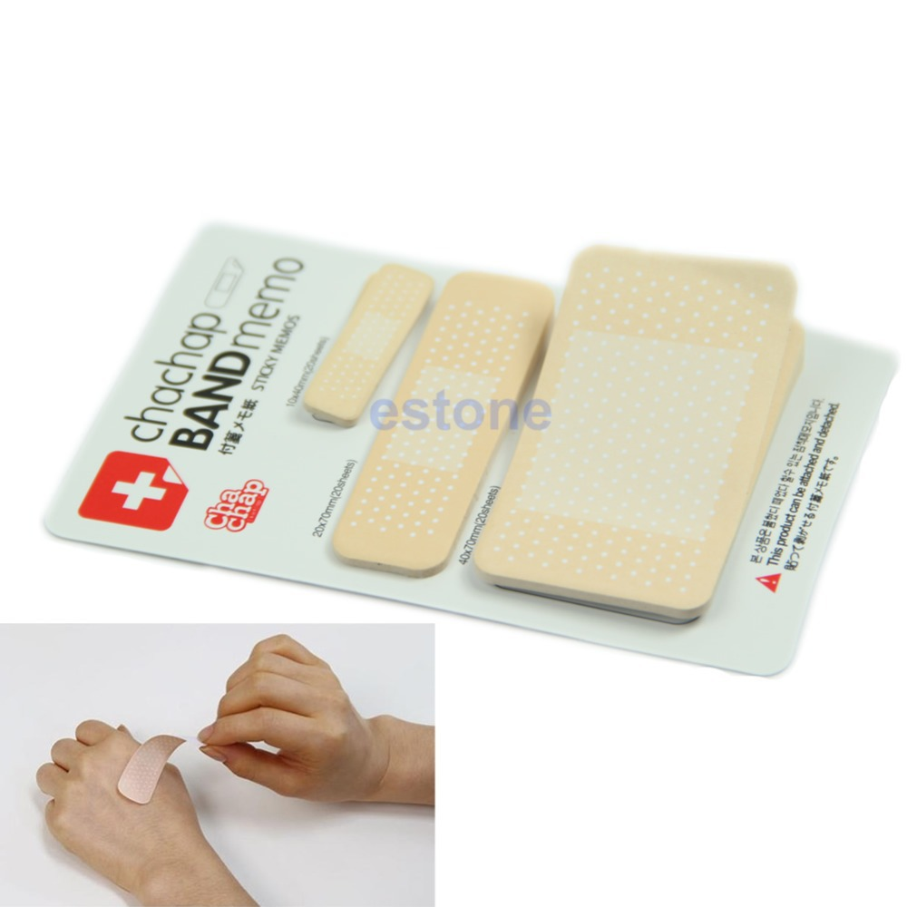 Гаджет  Free Shipping 60 Sheets Adhesive Plaster Notes Post-it Bookmark Band Memo Sticky Band-aid Set None Безопасность и защита