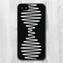 Black White Arctic Monkeys Protective custom design hard plastic mobile cell phone bags case cover for iphone 4 4s 5 5s 5c 6(China (Mainland))