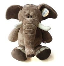 28cm Super cute Germany NICI jungle brother doll elephant  plush toy for birthday gifts 1pcs(China (Mainland))