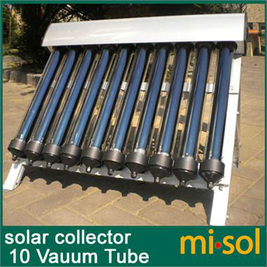 10 Evacuated Tubes, Solar Collector of Solar Hot Water Heater, Vacuum Tubes, new(China (Mainland))