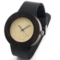 BOBO BIRD C09 100 Wooden Watches Handmade Leather Band Quartz Watch Women Watches with Gift box