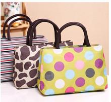 The new 2016 handbags high quality fashion canvas colorful bag printed bag women handbags 30*20*10CM 1059