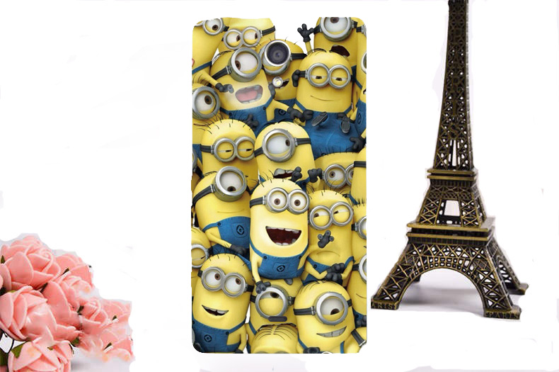 Luxury Paint Hard Plastic Phone Cover Case For Sony Xperia ZR C5502 C5503 M36h Cover Case Cartoon Back Cover Skin